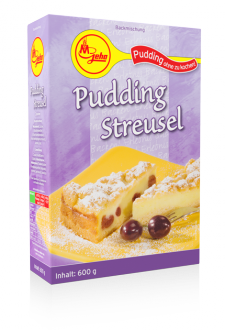 Pudding Streusel